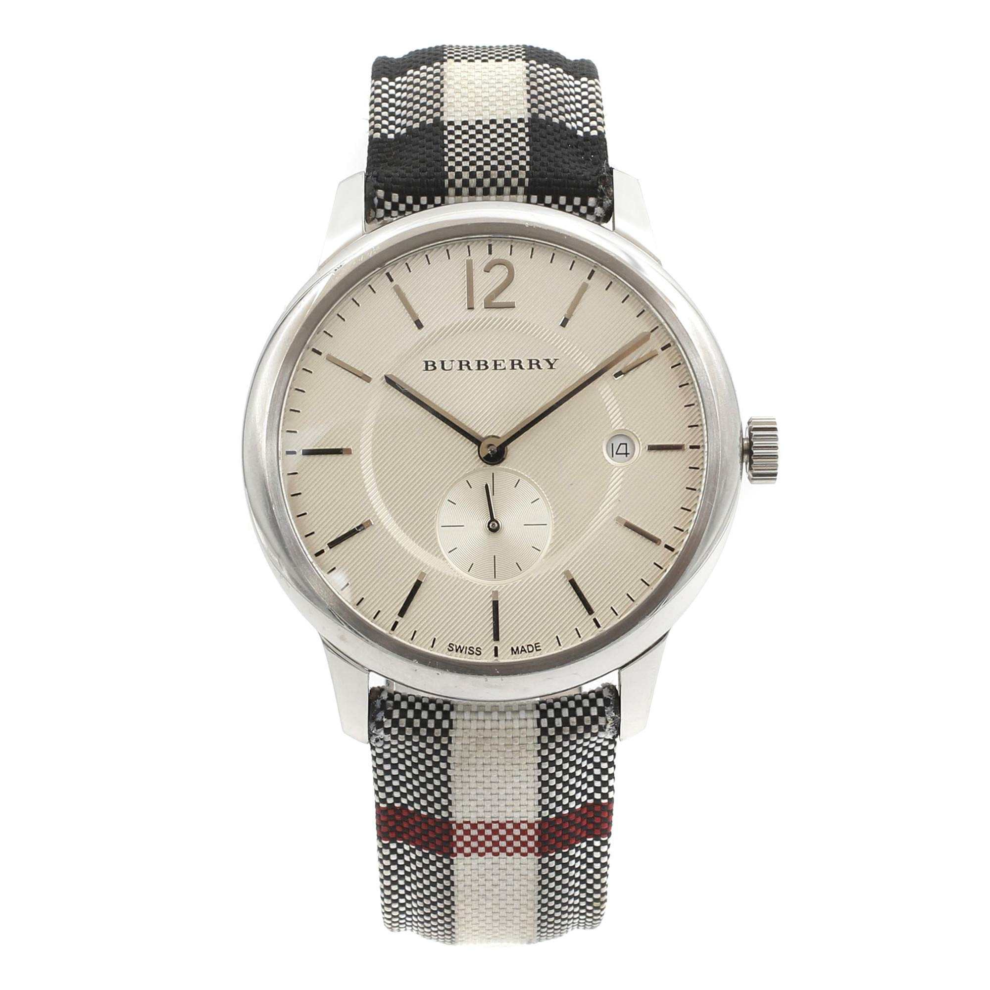 Burberry The Classic Round Quartz Male Watch BU10002 (Certified Pre-Owned)