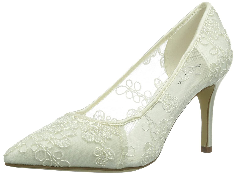 Menbur Wedding Flora - Zapatos de tacón Mujer 38 EU|Ivory 004