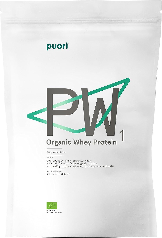 Puori Proteína de Suero de Leche con Sabor a Chocolate, Pack ...