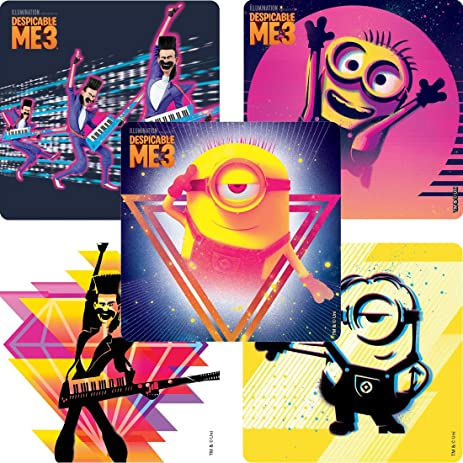 Despicable Me 3 Movie Stickers - Prizes and Giveaways - 100 per Pack - from  Smilemakers