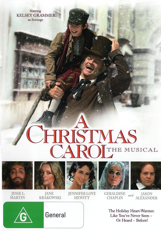 Amazon.com: A Christmas Carol The Musical | Jesse L. Martin ...