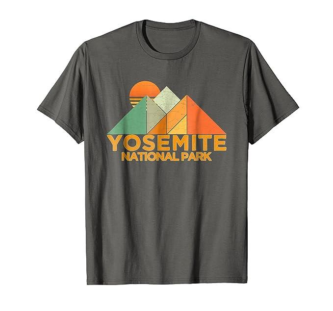 yosemite t shirt Vintage