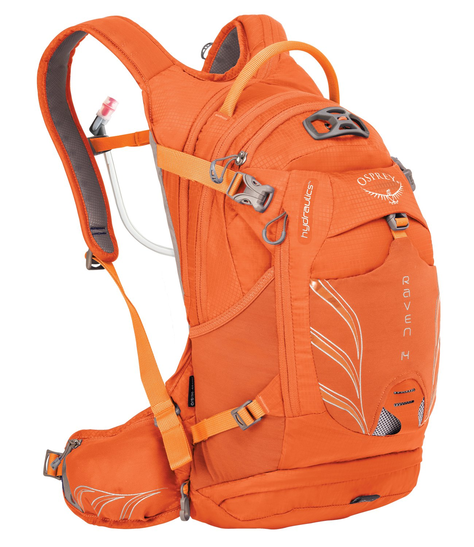Osprey Packs Women's Raven 14 Hydration Pack, Tiger Orange
