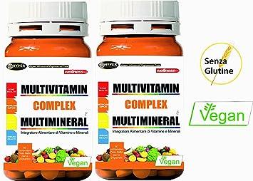 2 Paquetes Vitaminas y Minerales Multivitaminas 60 comprimidos (para un total de 120 tabletas)