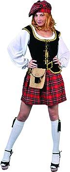 Generique - Disfraz de Escocesa para Mujer: Amazon.es: Juguetes ...
