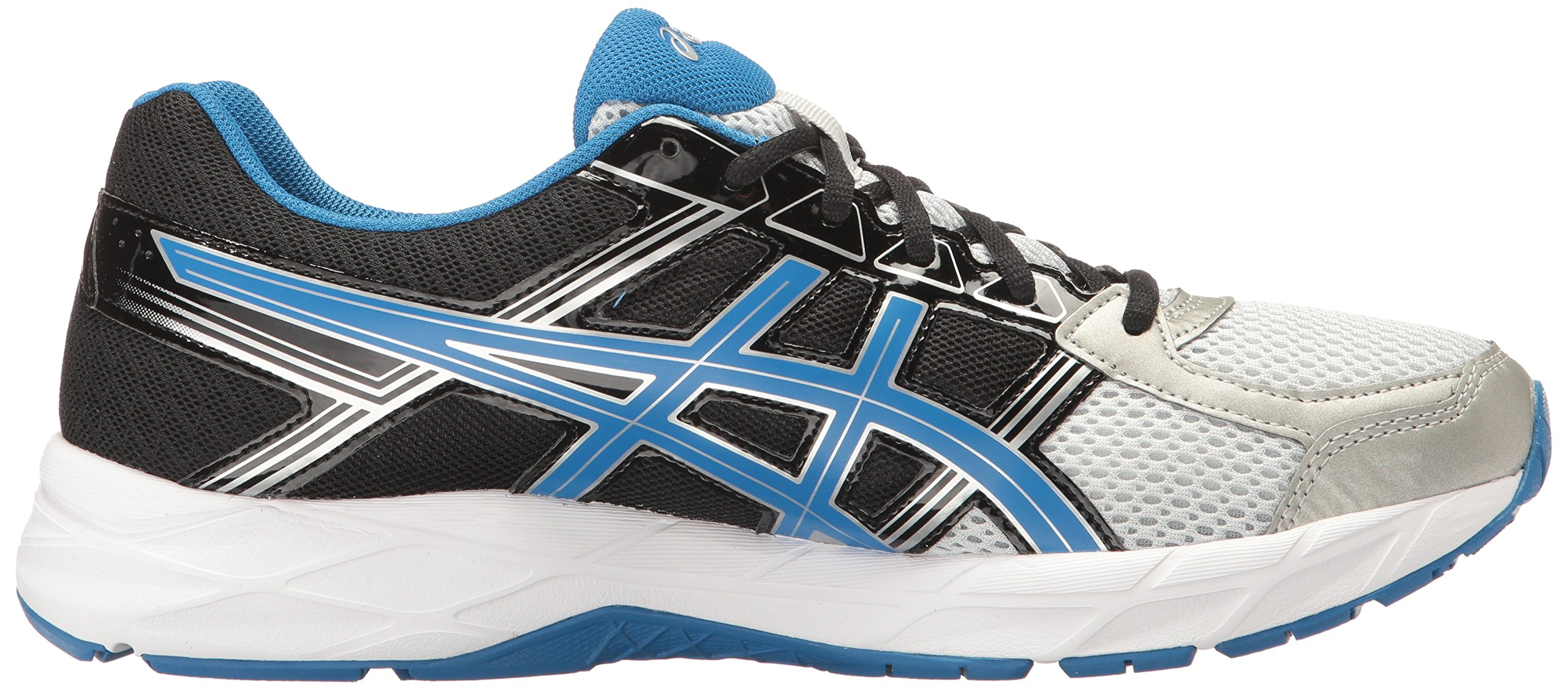 ASICS Men's Gel-Contend 4 Running Shoe, Silver/Classic Blue/Black, 7.5 M US by ASICS (Image #7)