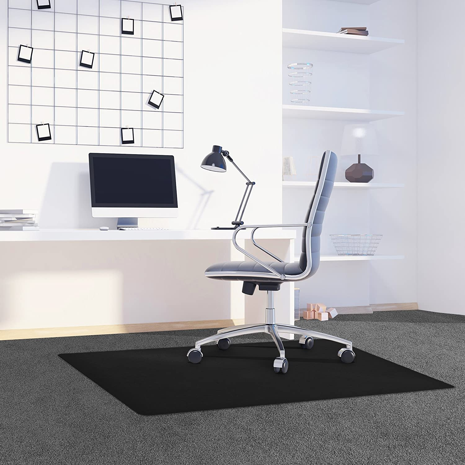 48 x 36,Premium Quality Chair Mat Thick and Sturdy YOUKADA Office Desk Chair Mat for Hard Wood Floor Chair Mat Floor PVC Clear Protection Floor Mat,Chair PVC Plastic Mat