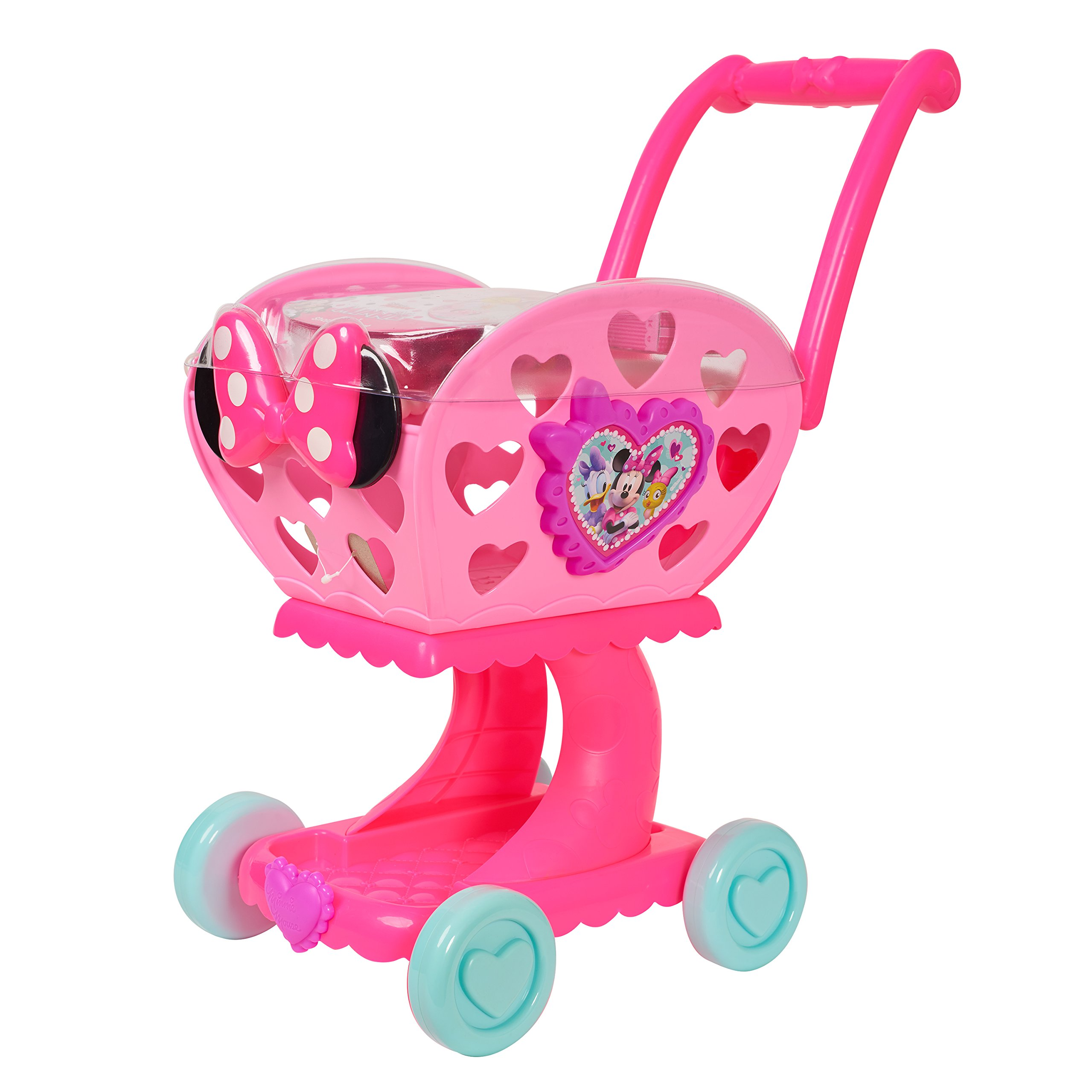 Just Play 88387 Minnie's Happy Helpers 2-in-1 Shopping Cart