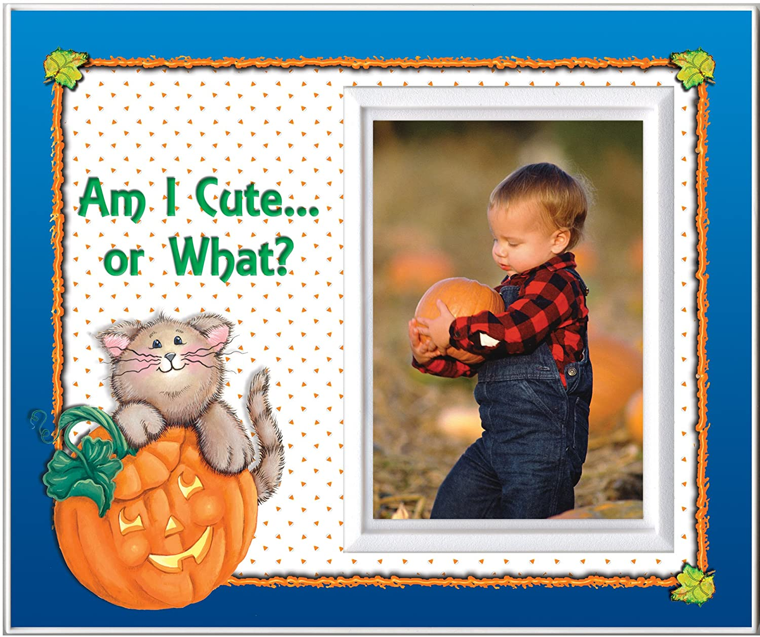 Am I Cute or What? Halloween Picture Frame Gift