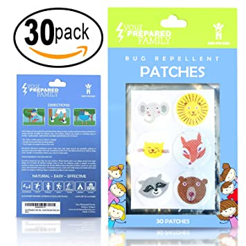 Best Mosquito Repellent Stickers With Citronella Oil For Kids Or Adults,  Includes FREE E