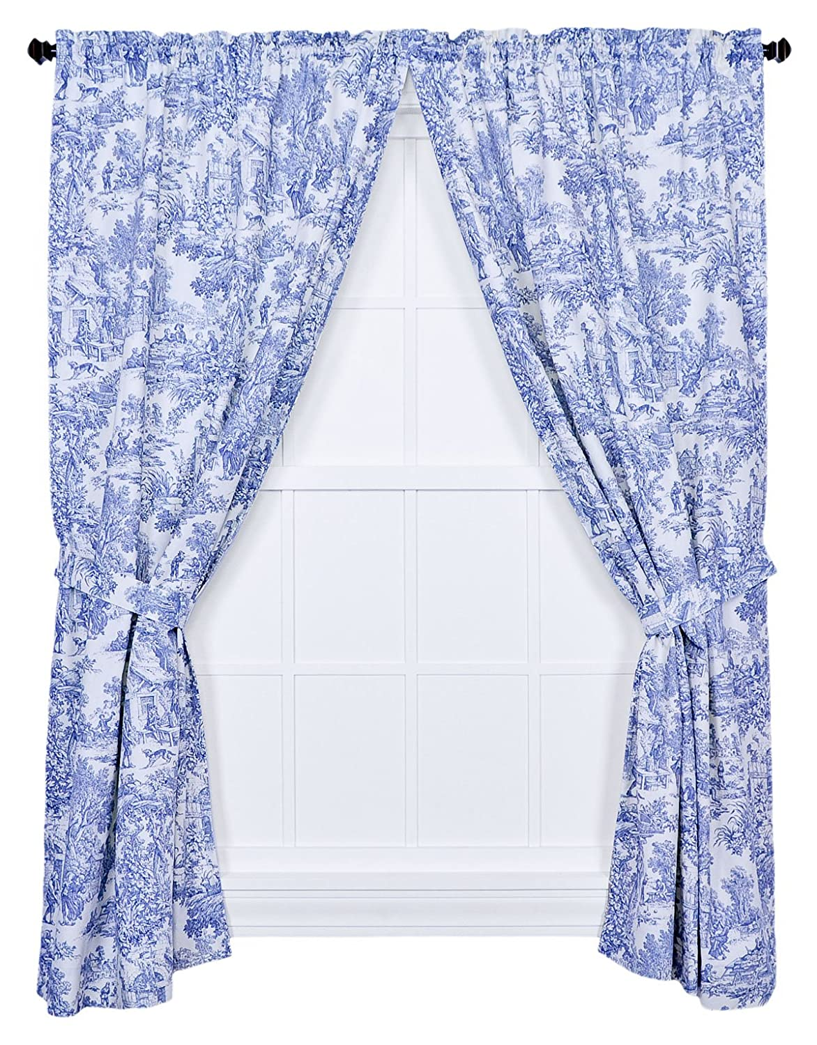 Amazon Com Victoria Park Toile 68 Inch By 84 Inch Tailored Panel