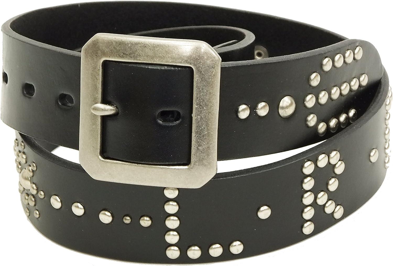 TEDMAN Studded Belt TDSB-600 Mens Casual Leather Belts