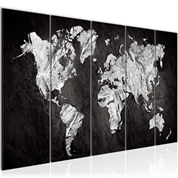 SENSATIONSPREIS !!! Bilder Weltkarte 200 X 80 Cm Bild World Map Wandbild  Vlies