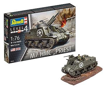 Revell- Maqueta de Tanque 05 mm M-7