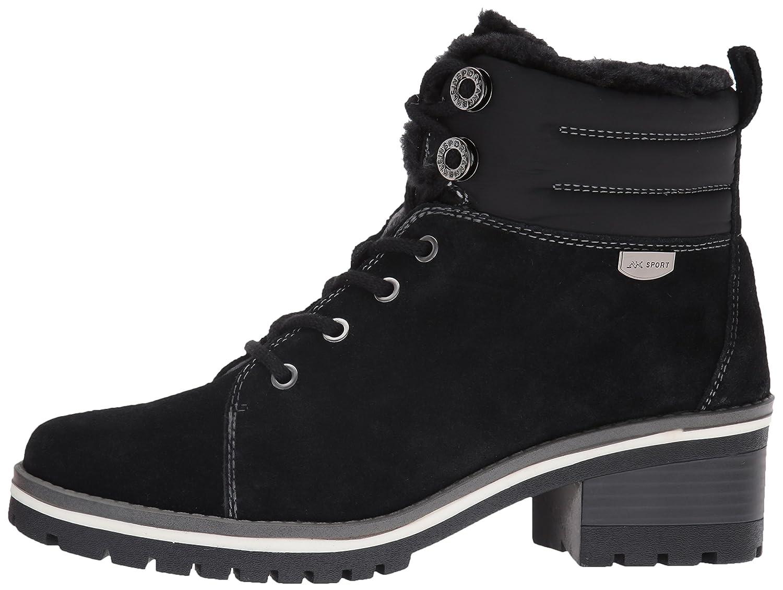 Anne Klein Women's Langstyn 9 Suede Snow Boot B01FMWB3CY 9 Langstyn B(M) US|Black 2fe450