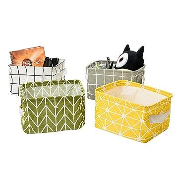 Charmant Zonyon Mini Storage Basket, Collapsible Fabric Storage Bin,Storage Cube,Basket,  Cute