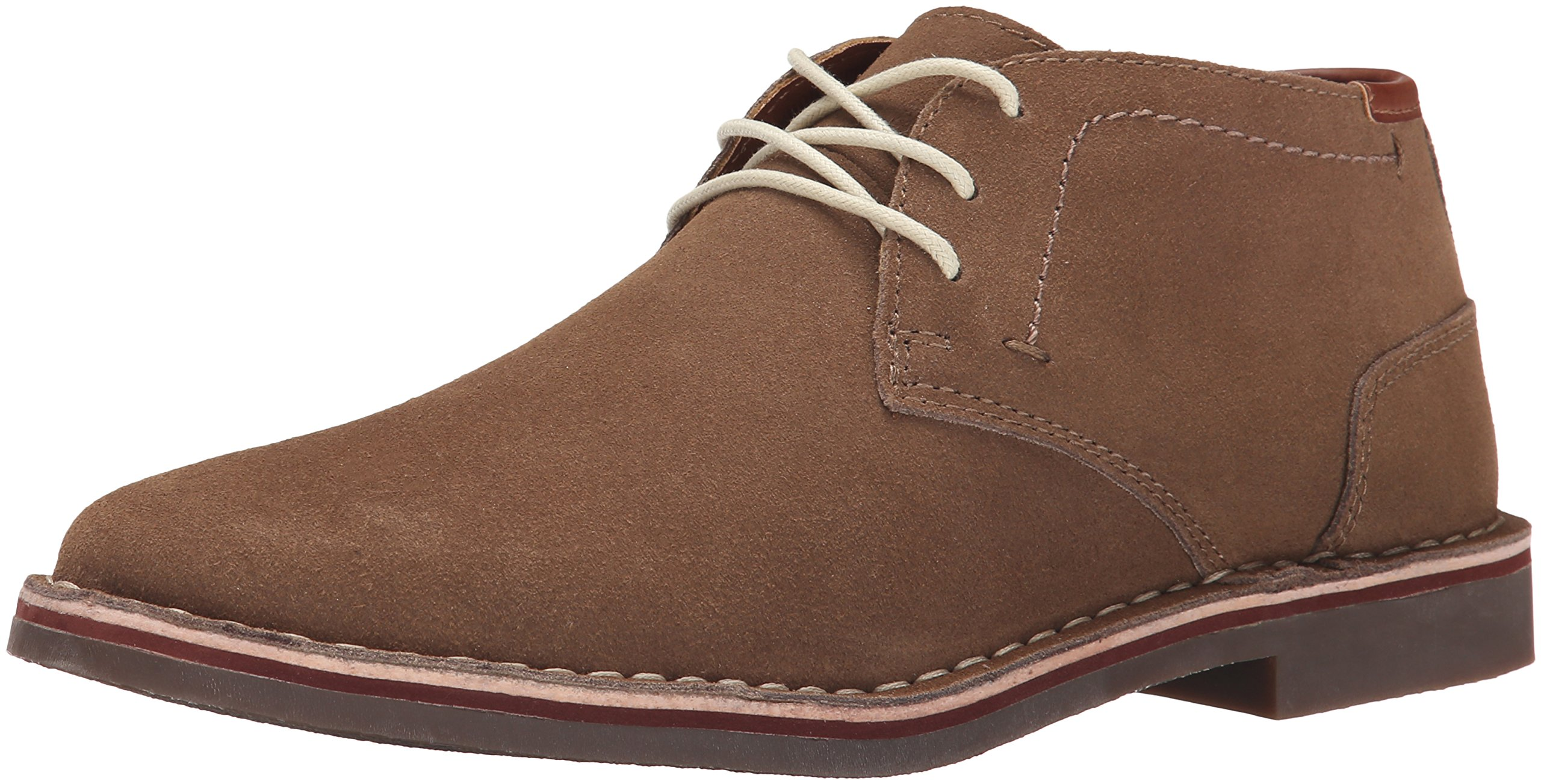 Kenneth Cole REACTION Men's Desert Sun SU Chukka Boot, Taupe Suede, 10 M US