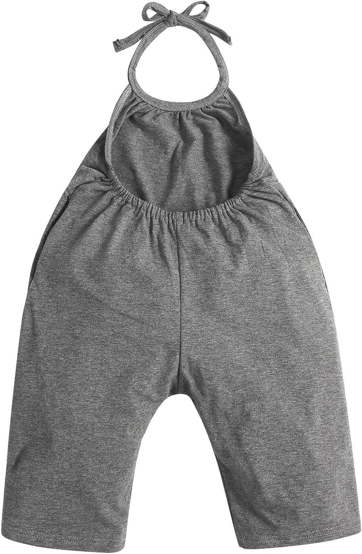 Kidsform Kleinkind Kind Baby M/ädchen Riemen Overalls St/ück Hosen Rompers Jumpsuits M/ädchen Sommerkleidung