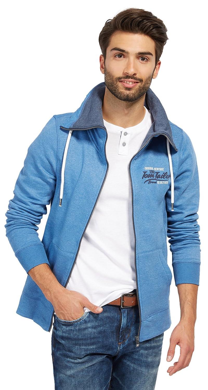 Stone Felpa 6519 3x Uomo agate Stand Tailor Blu up Tom Blue large Basic Jacket q6g0U