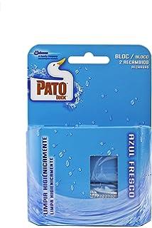 Pato Bloc Azul Fresco - Pack de 2 x 40 g - Total: 80 g