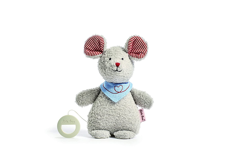 K/äthe Kruse Mouse Robin Musical Stuffed Animal