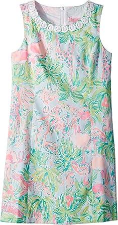 bdf956091 Amazon.com  Lilly Pulitzer Kids Womens Mini Mila Shift Dress (Little ...