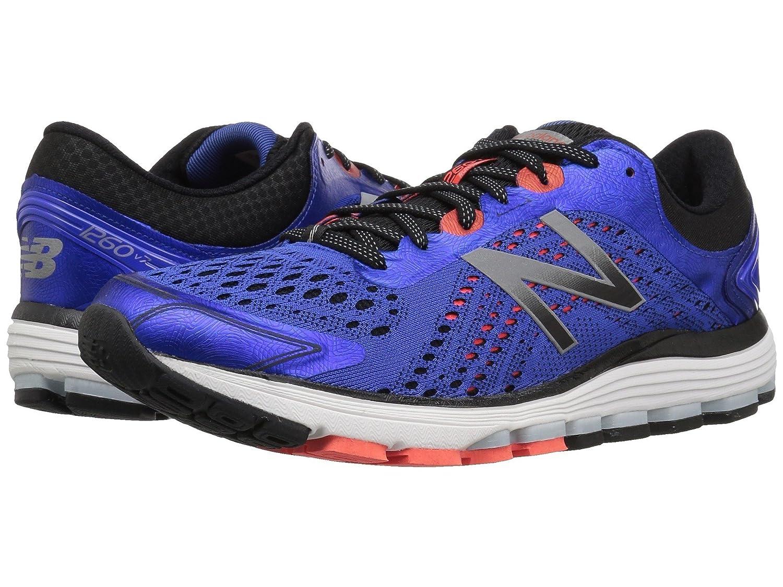 (ニューバランス) New Balance メンズランニングシューズスニーカー靴 1260 V7 Pacific/Black/Flame 9 (27cm) EE - Wide B078V2B75D