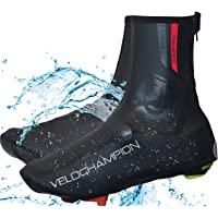 VeloChampion VC Comp Pro Cycling biking Waterproof Overshoes Windproof Weatherproof Heavyduty Reflective protection covers neoprene