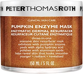 product image for Peter Thomas Roth Pumpkin Enzyme Mask Enzymatic Dermal Resurfacer, Exfoliating Pumpkin Facial Mask for Dullness, Fine Lines, Wrinkles and Uneven Skin Tone