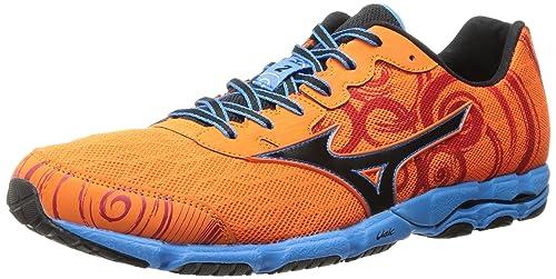 Mizuno Men's Wave Hitogami 2 Running Shoe,Vibrant Orange