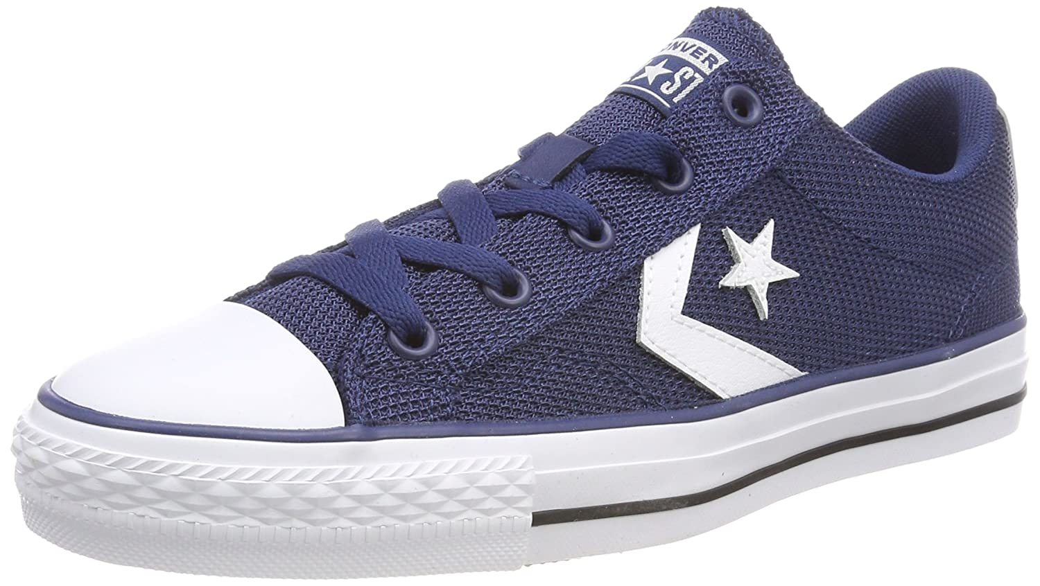 TALLA 48 EU. Converse Star Player Ox Navy/White/Black, Zapatillas Unisex Adulto