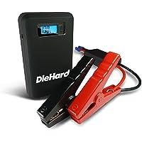 DieHard 43448 Compact 400 Peak Amp Lithium Ion Jump Starter & Portable 8000mAh Power Bank