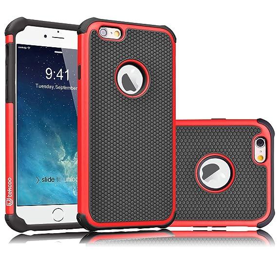 pretty nice 27da2 d5f03 Tekcoo iPhone 6S Case, Tekcoo iPhone 6 Sturdy Case,[Tmajor] for iPhone 6 /  6S (4.7 INCH) Case Shock Absorbing Impact Defender Slim Cover Shell ...