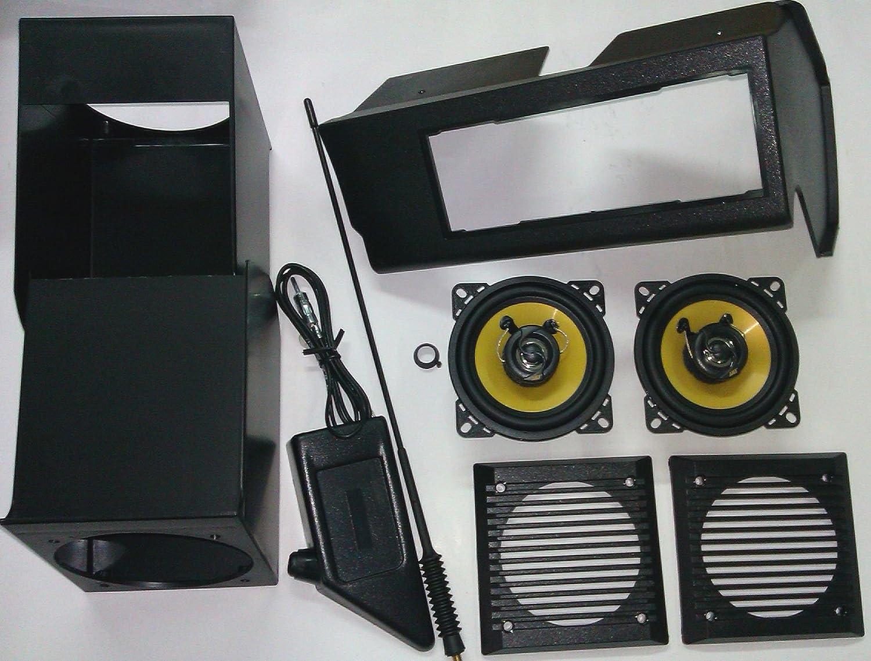 Kit Panda Nero senza antenna