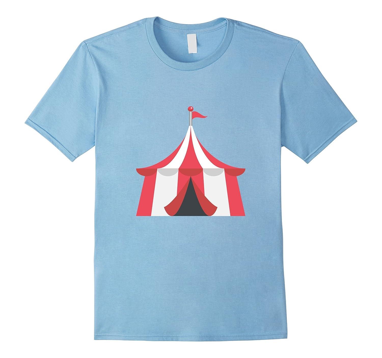 Circus Tent Emoji T Shirt Clown Carnival Birthday Party TH