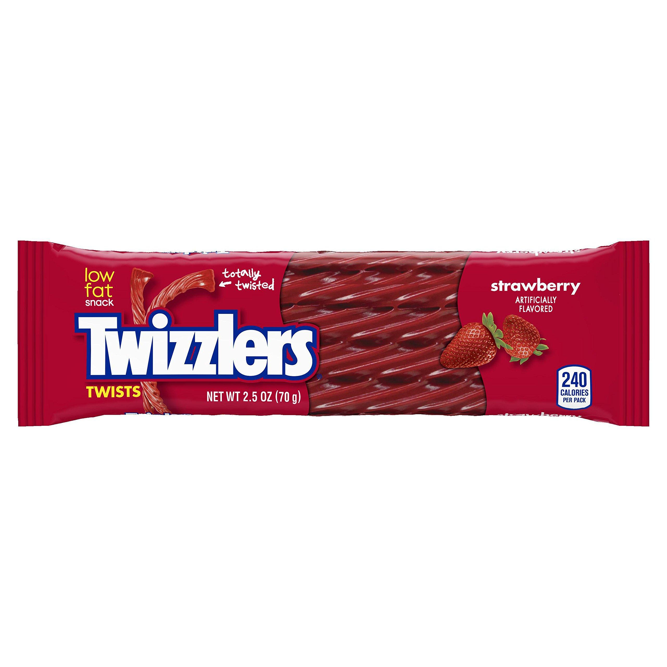 Twizzler Strawberry Twists (Pack of 36) by Twizzlers