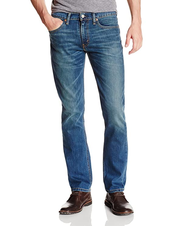 Levi's Men's 511 Slim Fit Jean, Throttle - Stretch, 35W x 34L