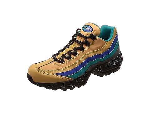 chaussures de séparation 7f20e 17848 Nike Chaussures Air Max 95 Premium Mega Blue Pour Homme en Cuir Multicolore  538416-204