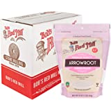 Bob's Red Mill Resealable Gluten Free Arrowroot Starch/Flour, 16 Ounce (Pack of 4)