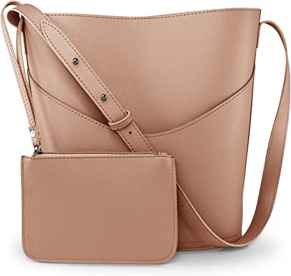 Women Shoulder Tote Handbag Ladies Cross Body Bag Faux Leather New Fashion Purse