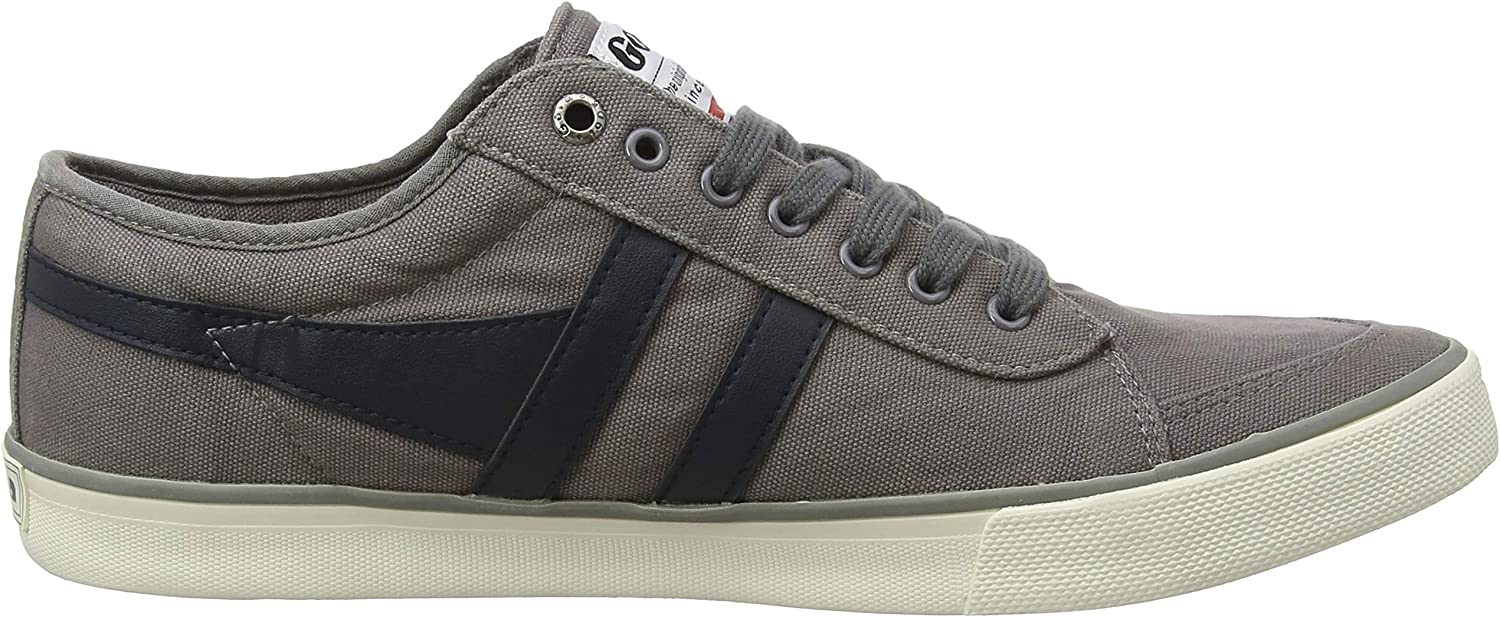 Gola Men's Comet Trainers Grey Ash Navy He
