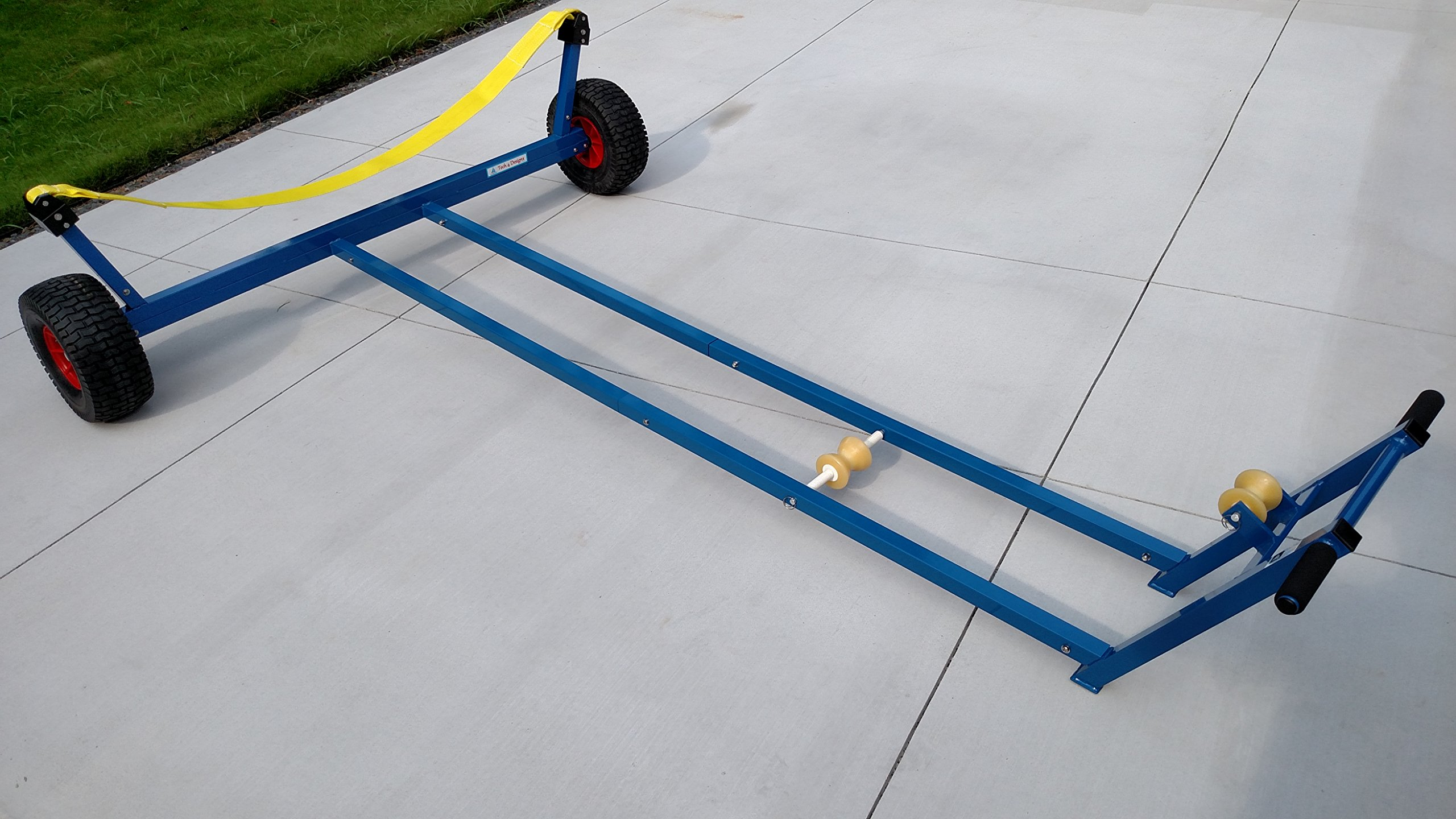 Boat Dolly for C420 and FJ Class Sailboats w/Beach Wheels