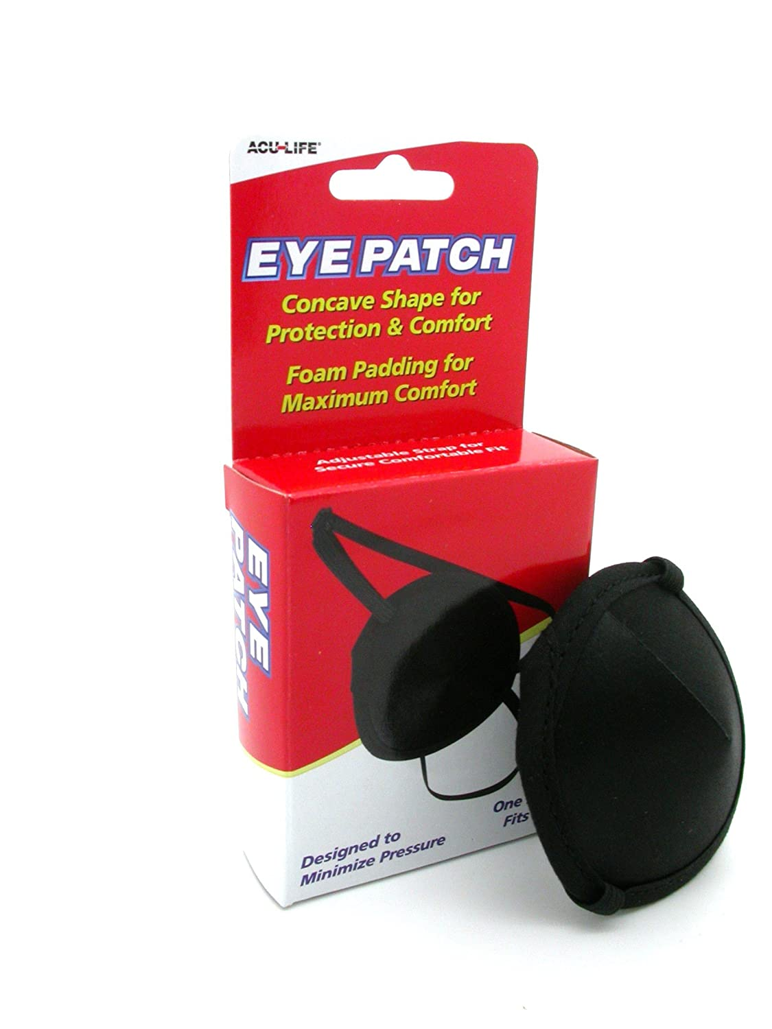 Aculife Protective Concave Eyepatch with Foam Padding HealthCentre 400013