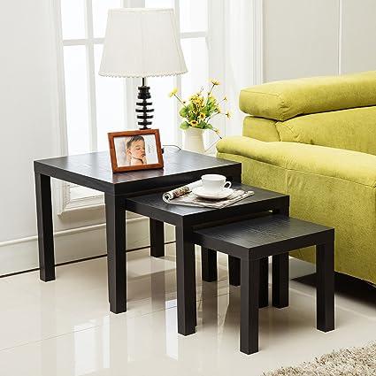 Amazon mecor nesting coffee table set 3 piece modern coffee mecor nesting coffee table set 3 piece modern coffeesideendsofa watchthetrailerfo
