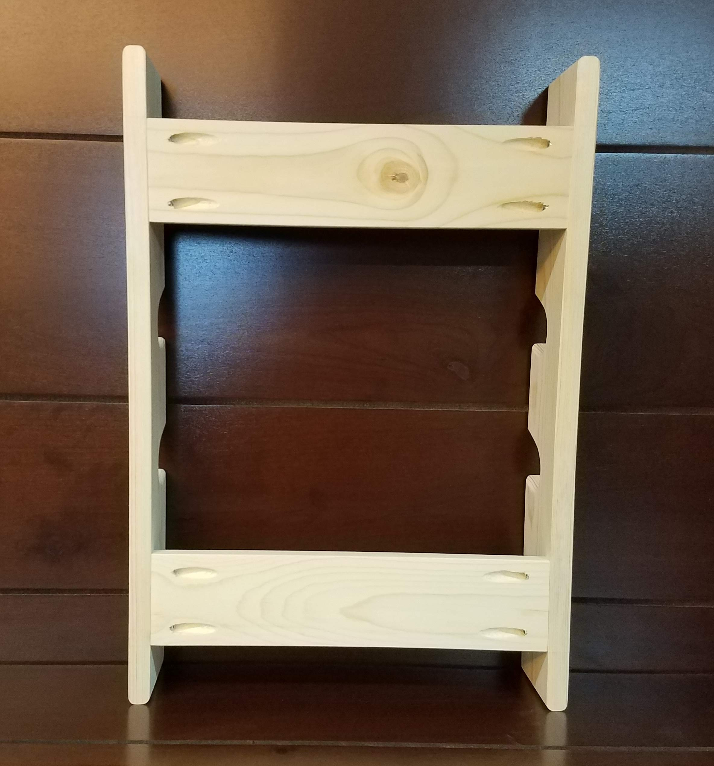 Rolling Pin Rack with Four Slots - Multiple Rolling Pin Rack - Rolling Pin Holder - Rolling Pin Storage - 4 Rolling Pin Rack by Rusty Nail Custom Woodworking (Image #7)