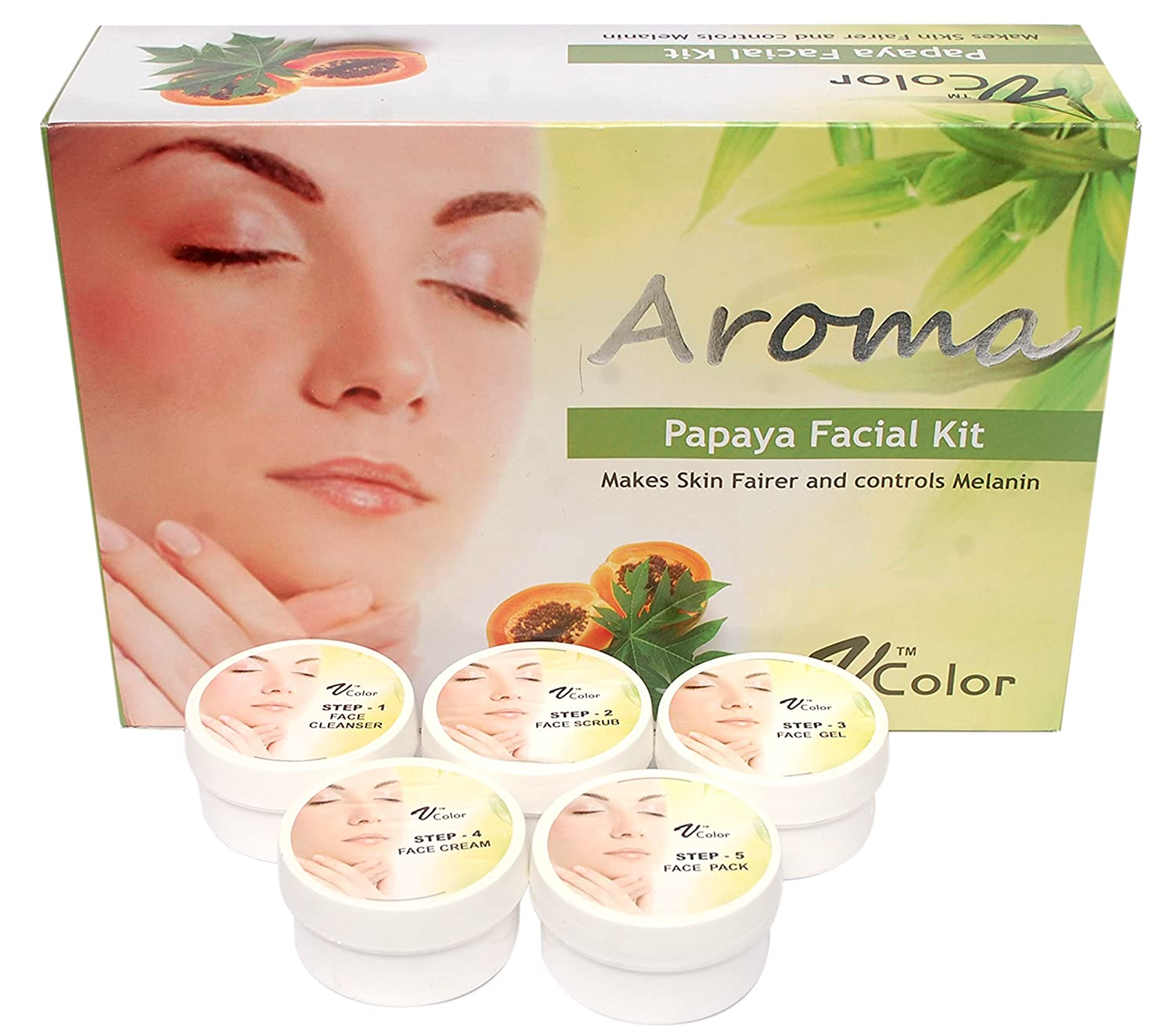 Aroma facial products