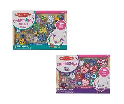 72a89d9025c6 Amazon.com: Melissa & Doug Sweet Hearts Bead Set, Arts & Crafts ...