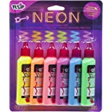Tulip Dimensional Neon Fabric Paint, 6-Pack
