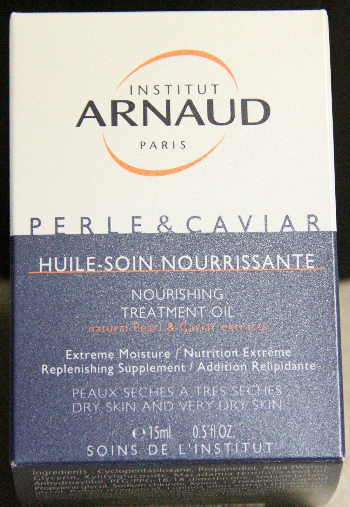 Institut Arnaud Paris Perle & Caviar Nourishing Treatment Oil Natural Pearl & Caviar Extracts