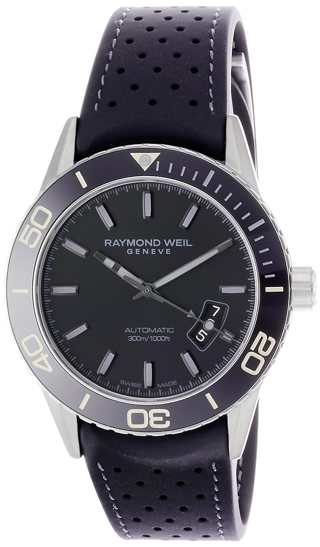 [レイモンドウェイル]RAYMOND WEIL 腕時計、FREELANCERフリーランサー、自動巻き&ダイバーズ 2760-TR1-20001 メンズ 【正規輸入品】 B074232KJV